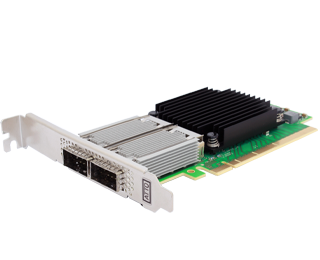 FastFrame™ N312 Integrated QSFP28 Optical Interface