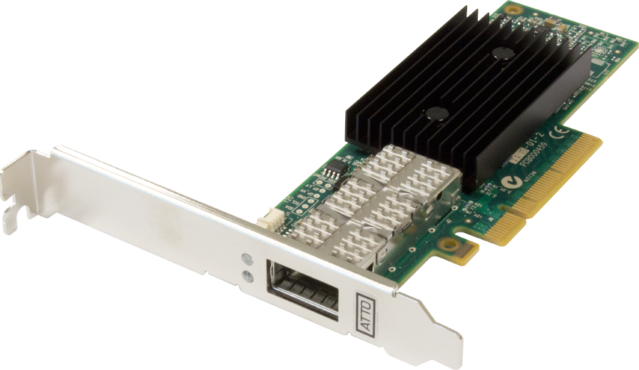 FastFrame™ NQ41 QSFP+ Optical Interface