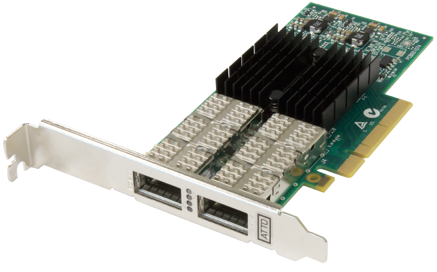 FastFrame™ NQ42 QSFP+ Optical Interface