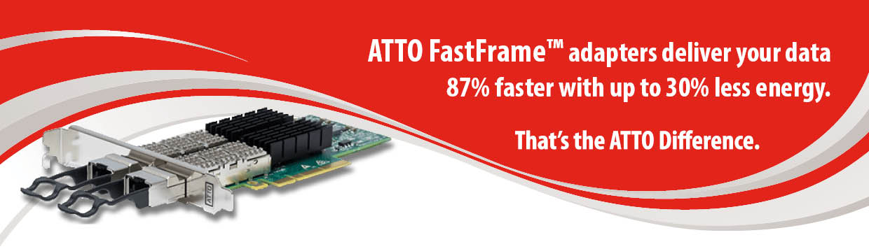 FastFrame - the ATTO Difference